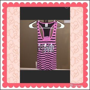 NWOT PINK top size XS